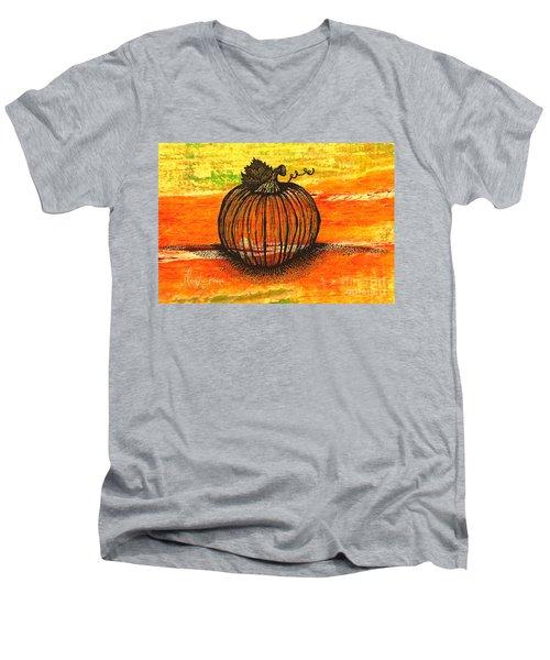 Time To Get Pumkin Men's V-Neck T-Shirt