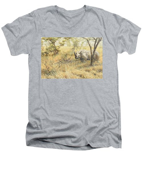 Time To Move On Men's V-Neck T-Shirt