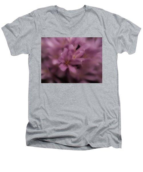 Timeless Men's V-Neck T-Shirt by Richard Cummings