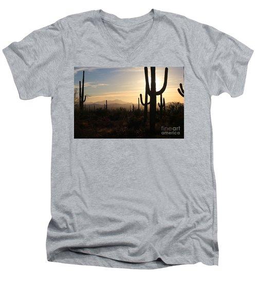 Timeless Men's V-Neck T-Shirt by Sheila Ping