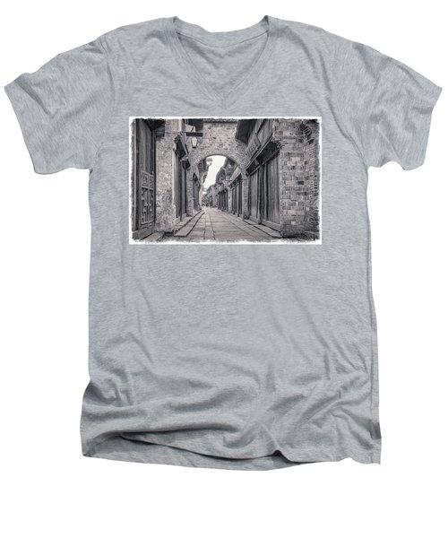 Timeless. Men's V-Neck T-Shirt