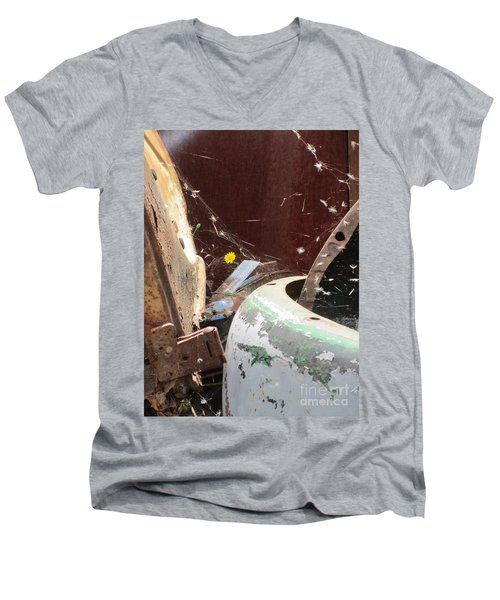 Men's V-Neck T-Shirt featuring the photograph Timeless Wish by Marie Neder