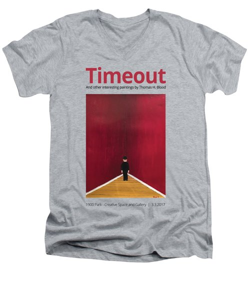 Timeout T-shirt Men's V-Neck T-Shirt