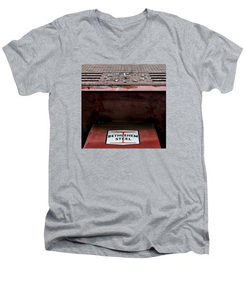 Timesover Men's V-Neck T-Shirt by DJ Florek