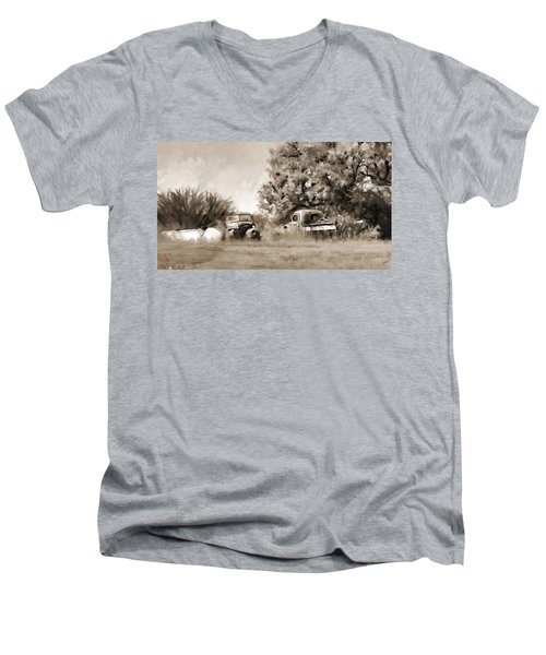 Timeworn Men's V-Neck T-Shirt