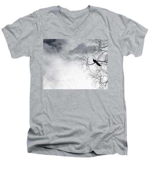 Timing Is Everything Men's V-Neck T-Shirt