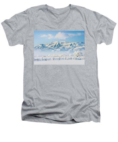 Timp In Winter Men's V-Neck T-Shirt