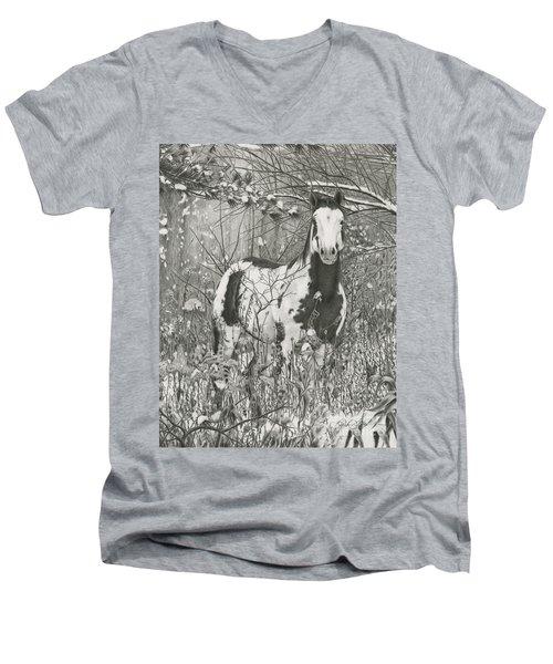 Tinman Men's V-Neck T-Shirt