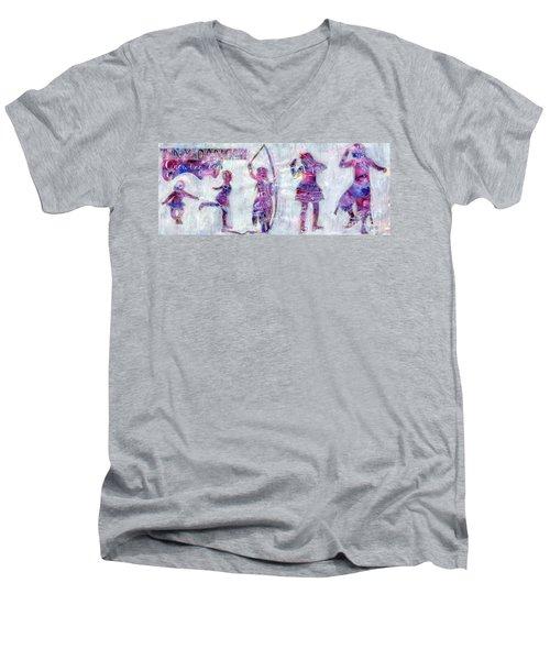 Tiny Dancer Growing Up Men's V-Neck T-Shirt