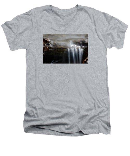 Tiny Waterfall Men's V-Neck T-Shirt
