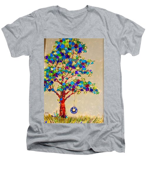 Tired Tree Men's V-Neck T-Shirt