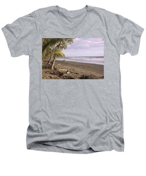 Tiskita Pacific Ocean Beach Men's V-Neck T-Shirt