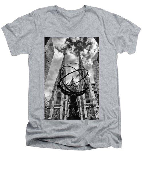 Titan Men's V-Neck T-Shirt