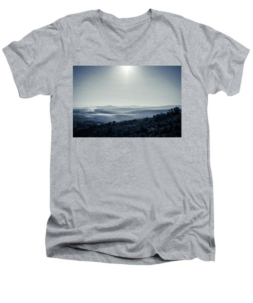 To A Peaceful Valley Men's V-Neck T-Shirt