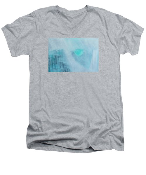 To Know Yourself Men's V-Neck T-Shirt by Min Zou