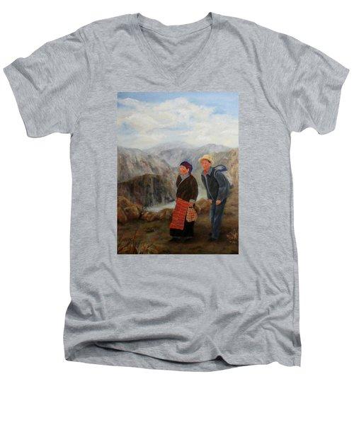To Market Men's V-Neck T-Shirt
