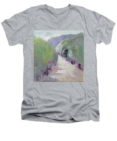 To Mountain Men's V-Neck T-Shirt