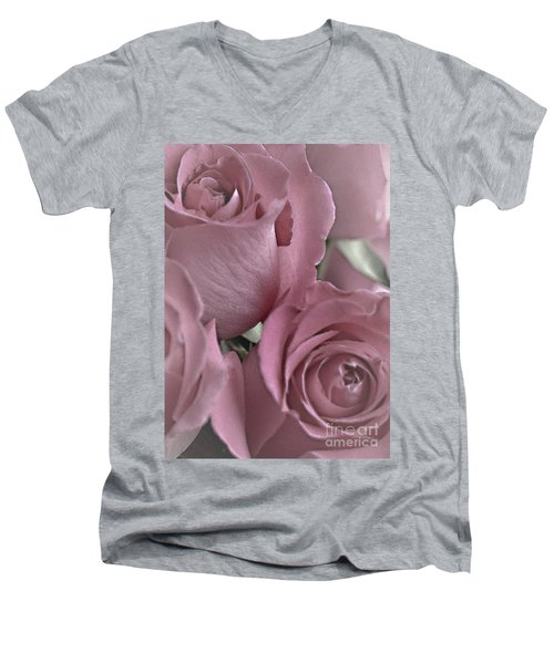 To My Sweetheart Men's V-Neck T-Shirt by Sherry Hallemeier