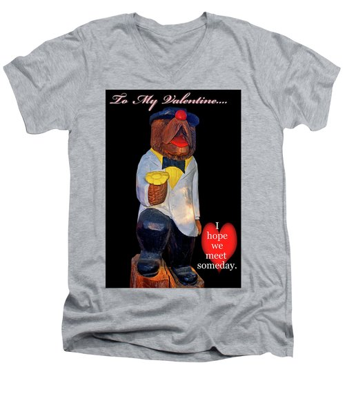 To My Valentine 002 Men's V-Neck T-Shirt
