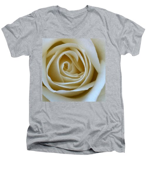 To The Heart Of The Rose Men's V-Neck T-Shirt