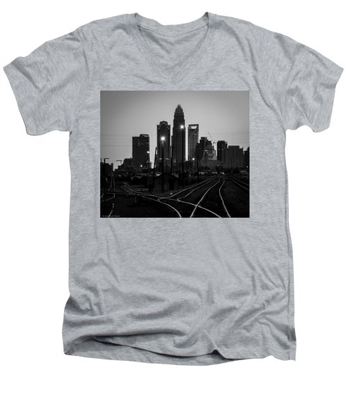 To The Queen City Men's V-Neck T-Shirt