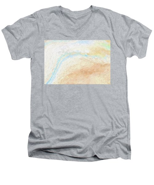 To The Sea Men's V-Neck T-Shirt by Bonnie Bruno