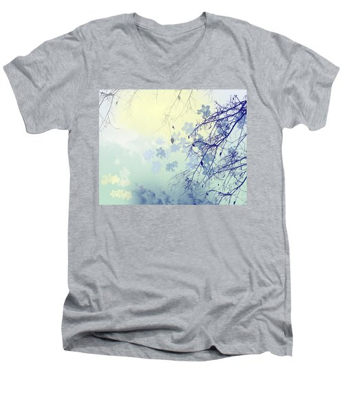 To The Waiting One Men's V-Neck T-Shirt by Trilby Cole
