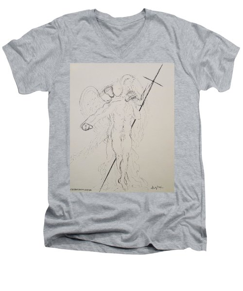 To Thine Own Self Be True Men's V-Neck T-Shirt