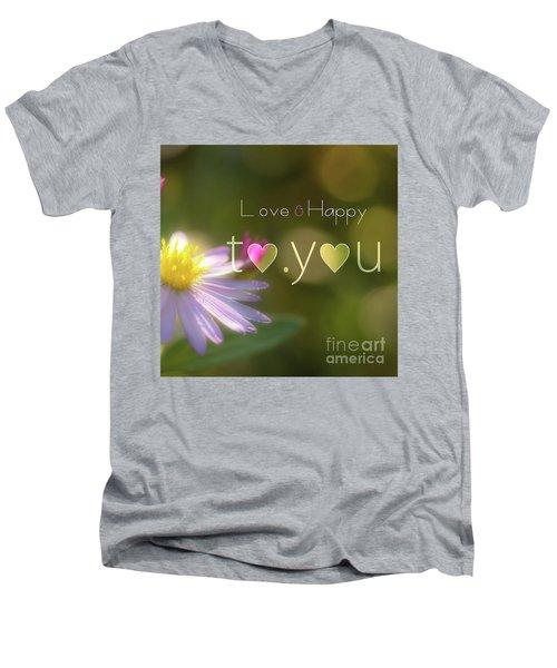 To You #003 Men's V-Neck T-Shirt