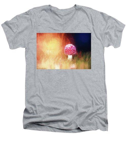Toadstool Mind Men's V-Neck T-Shirt