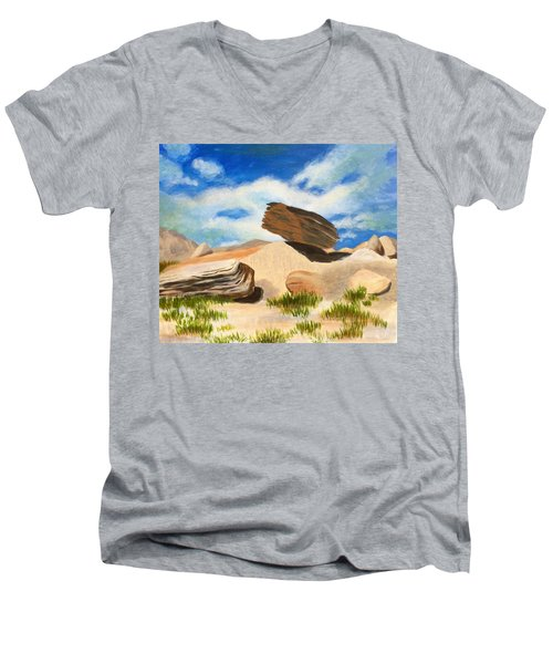 Toadstool Park Nebraska Men's V-Neck T-Shirt