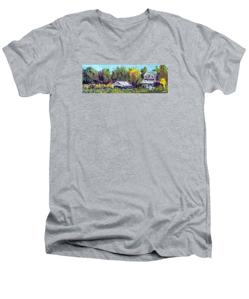 Tobacco Barn On Deppe Loop Rd Men's V-Neck T-Shirt