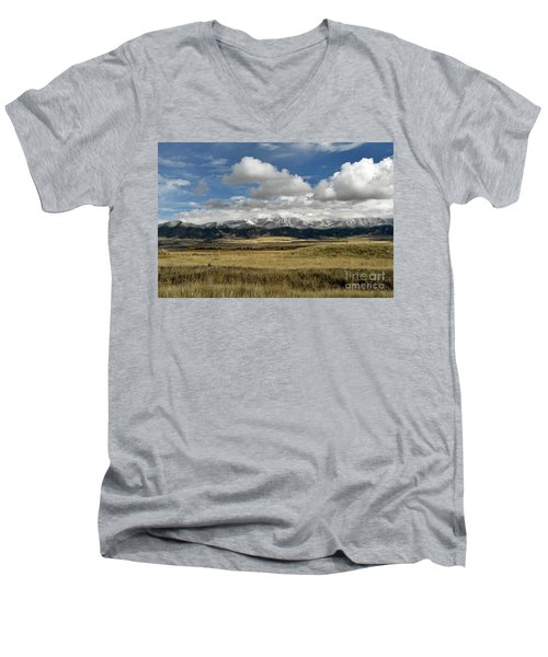 Tobacco Root Mountains Men's V-Neck T-Shirt