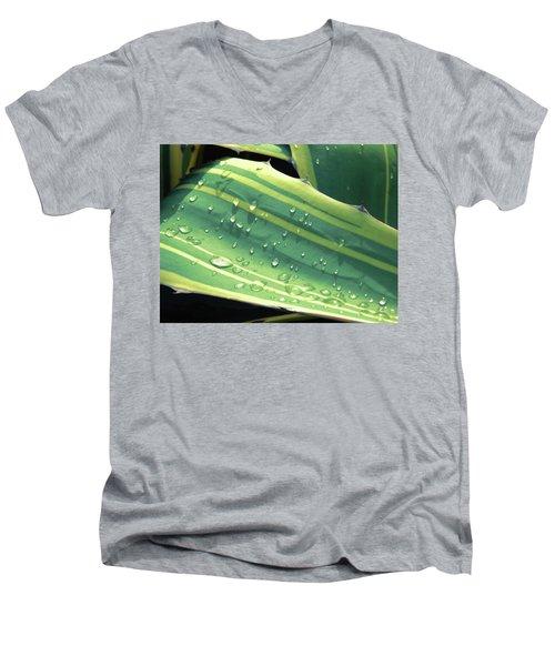 Toboggan Men's V-Neck T-Shirt by Beto Machado
