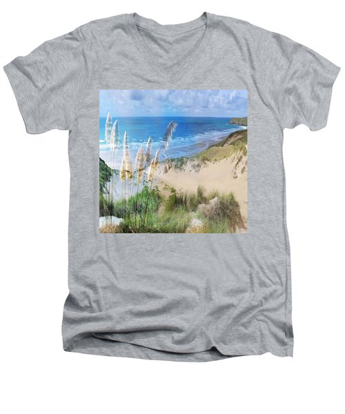 Toi Tois In Coastal  Sandhills Men's V-Neck T-Shirt