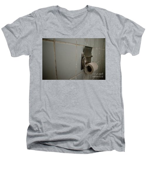 Toilet Paper Men's V-Neck T-Shirt