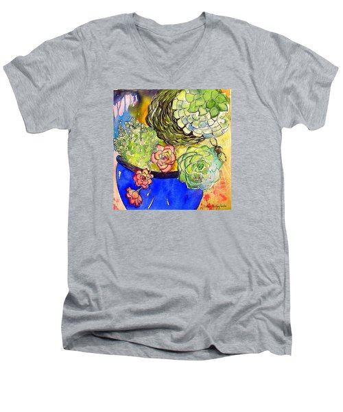 Tom In The Garden Men's V-Neck T-Shirt