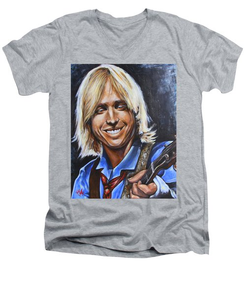 Tom Petty Men's V-Neck T-Shirt