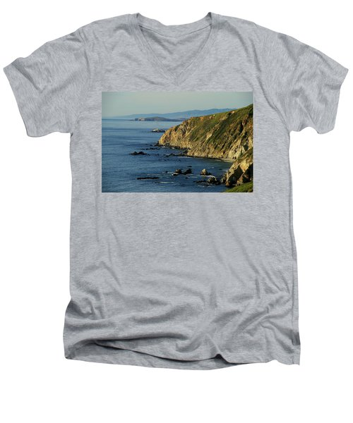 Tomales Point Men's V-Neck T-Shirt