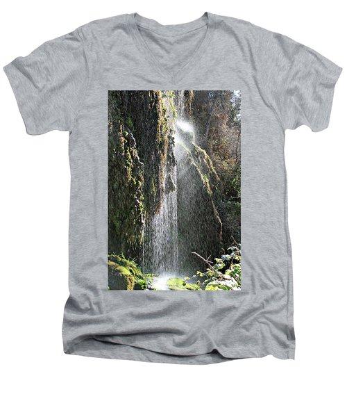 Tonto Waterfall Splash Men's V-Neck T-Shirt