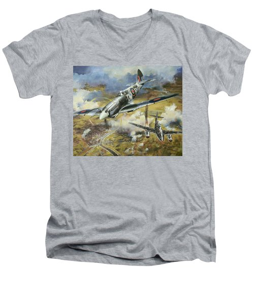 Tony Gaze, Unsung Hero Men's V-Neck T-Shirt