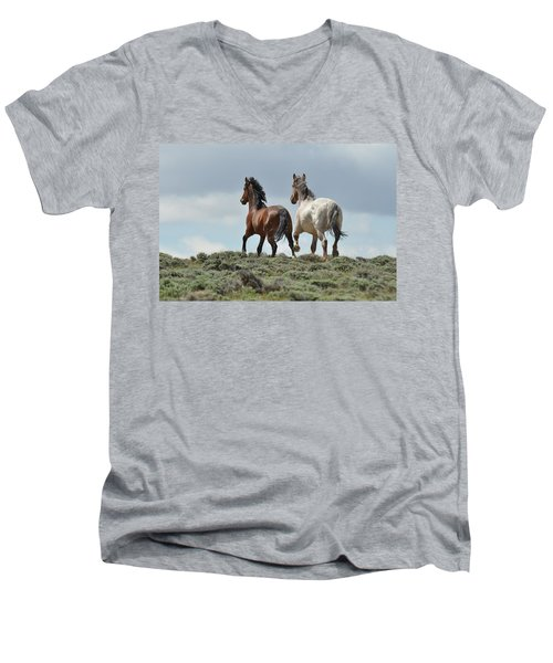 Too Beautiful Men's V-Neck T-Shirt