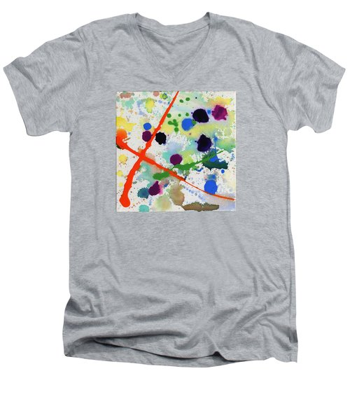 Too Much Fun Men's V-Neck T-Shirt by Phil Strang