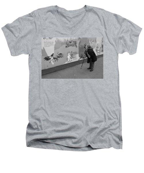 Too Small Men's V-Neck T-Shirt