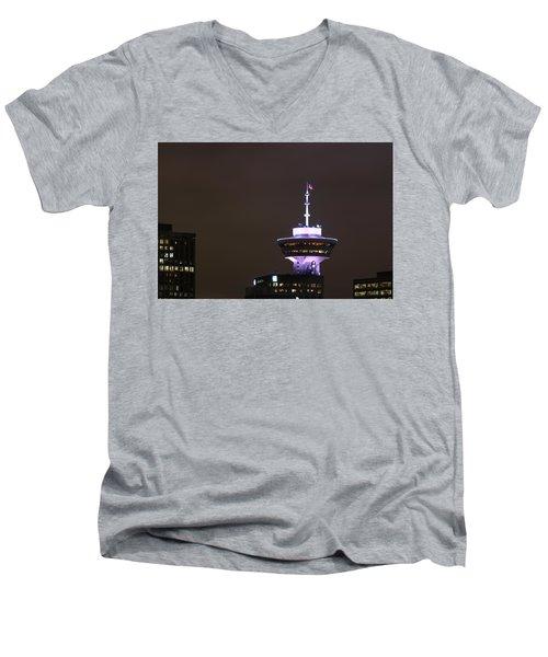 Top Of Vancouver Restaurant Men's V-Neck T-Shirt
