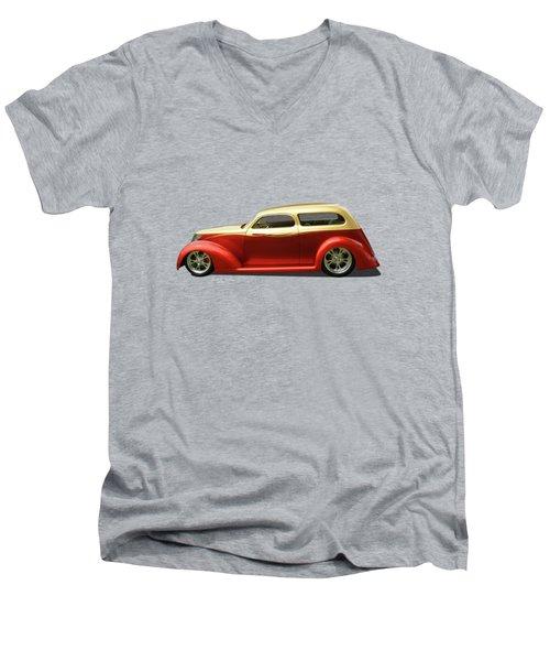 Top Quality Men's V-Neck T-Shirt