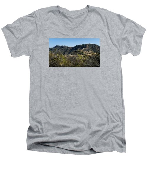 Topanga Canyon Trail Men's V-Neck T-Shirt