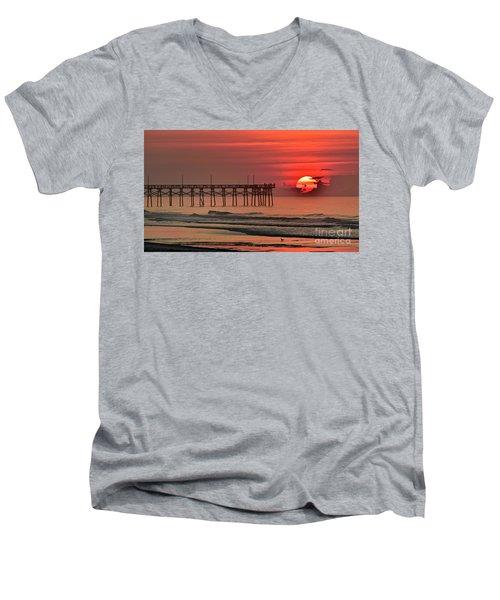 Topsail Moment Men's V-Neck T-Shirt