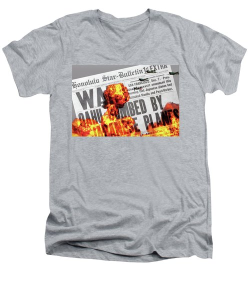 Tora Tora Tora Men's V-Neck T-Shirt
