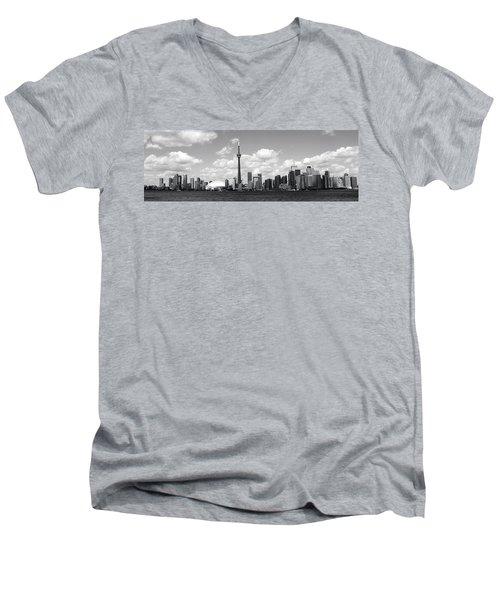 Toronto Skyline 11 Men's V-Neck T-Shirt